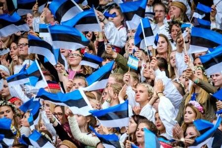 XII Noorte laulupidu toimus 02.07.2017. FOTO: HENDRIK OSULA